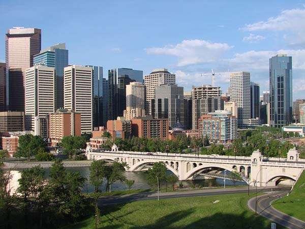 Calgary centro ciudad