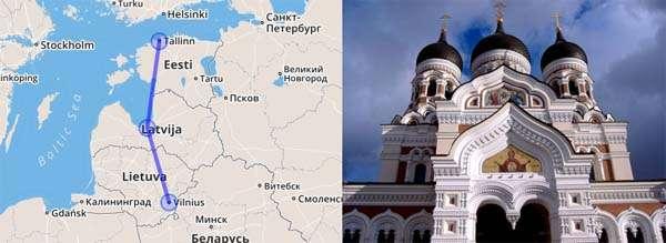 Viaje a las Capitales Bálticas con Top10Hoteles