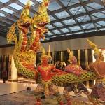 El Aeropuerto Internacional Suvarnabhumi en Bangkok: información y hoteles