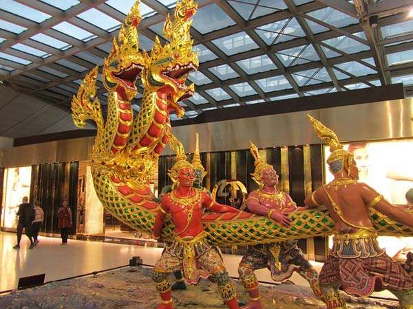 Aeropuerto de Bangkok Suvarnabhumi