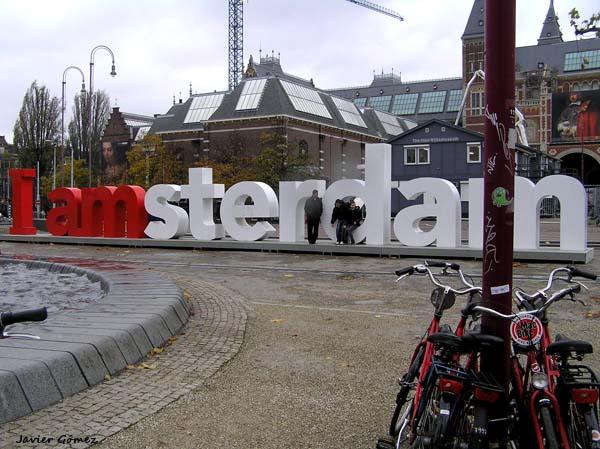 I love Ámsterdam