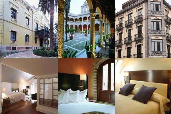 Hoteles de 5 estrellas en Granada capital