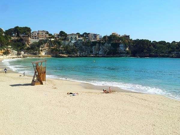 Playa de Porto Cristo en Mallorca