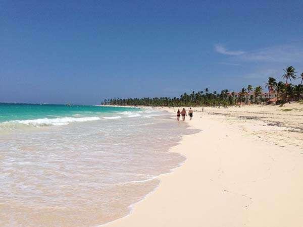 Punta Cana, paseando por la playa