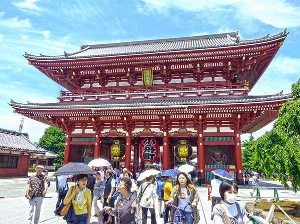 Templo Asakusa en Tokyo