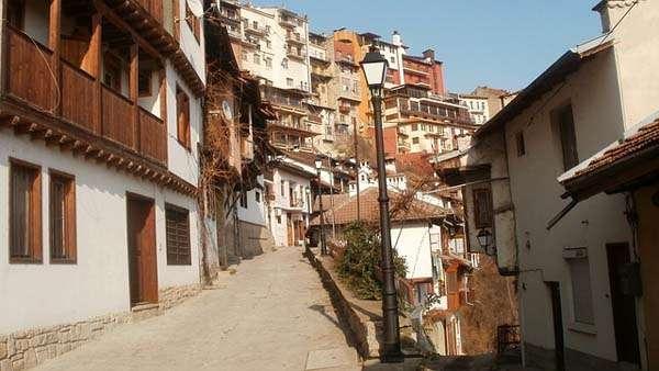 Veliko Tarnovo, calle Gurko