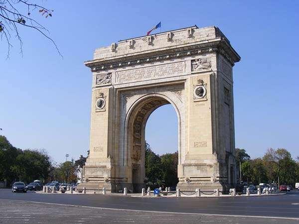 Arco del Triunfo de Bucarest