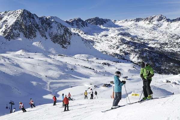 Esración de esquí de Grandvalira