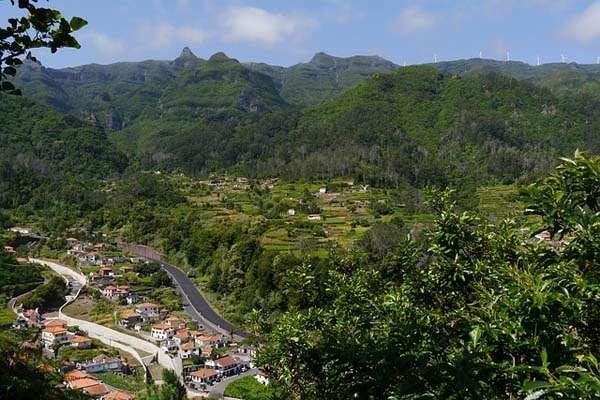 Paisaje de Madeira