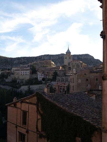 Vistas de Albarracín en Teruel