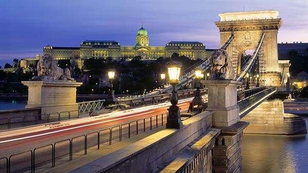 Budapest, Puente de las Cadenas