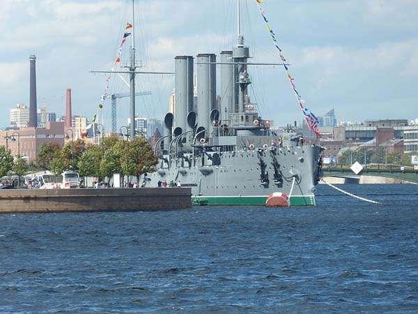 Crucero Acorazado Aurora San Petersburgo