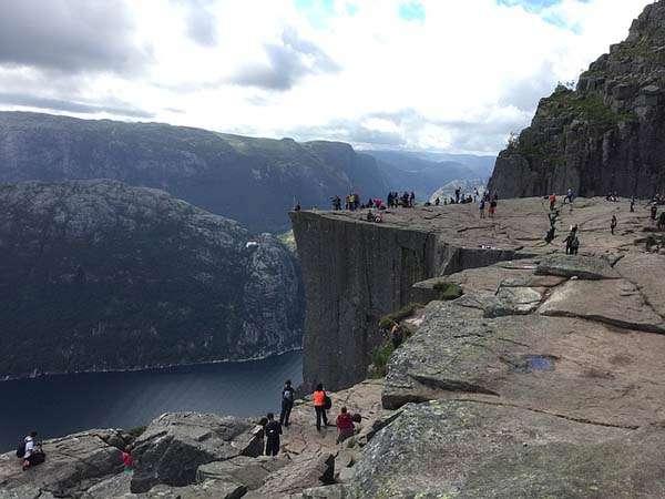 Fiordo cerca de Stavanger