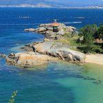 La costa de Galicia, entre rías anda el juego
